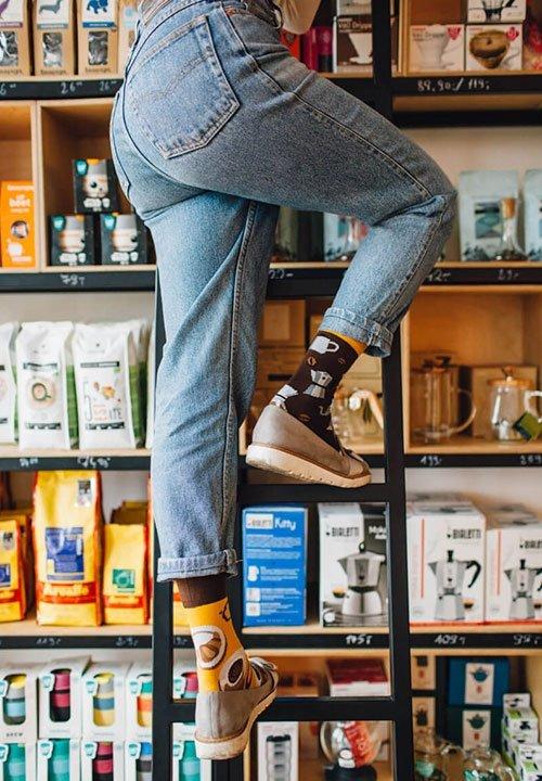 COFFEE LOVER skarpetki dla wielbicielek kawy
