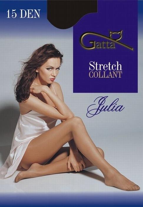 JULIA rajstopy Gatta klasyczne stretch czarne, beżowe, grafit, białe, lyon, ecri (panna)