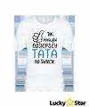 Koszulka Męska Tak wygląda najlepszy TATA na świecie