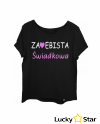 Koszulka Damska Za*ebista Świadkowa