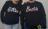 Bluzy dla par PIĘKNA BESTIA