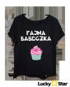 Koszulka Damska oversize Fajna babeczka