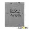 Koszulka Damska BABCIA to przyjaciel