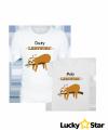 Komplet koszulek Duży i Mały Leniwiec