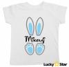 Koszulki króliczki dla chłopca i dziewczynki + wybrane imię