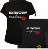Koszulki dla mamy i córki Dziewczyny rządzą