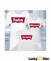 Zestaw koszulek Mama Tata urwis