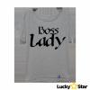 Koszulka Damska oversize Boss Lady