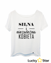 Koszulka Damska Niezależna Kobieta