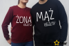 Bluzy dla par ŻONA IDEALNA MĄŻ IDEALNY