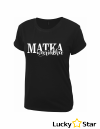 Koszulka Damska Matka wariatka