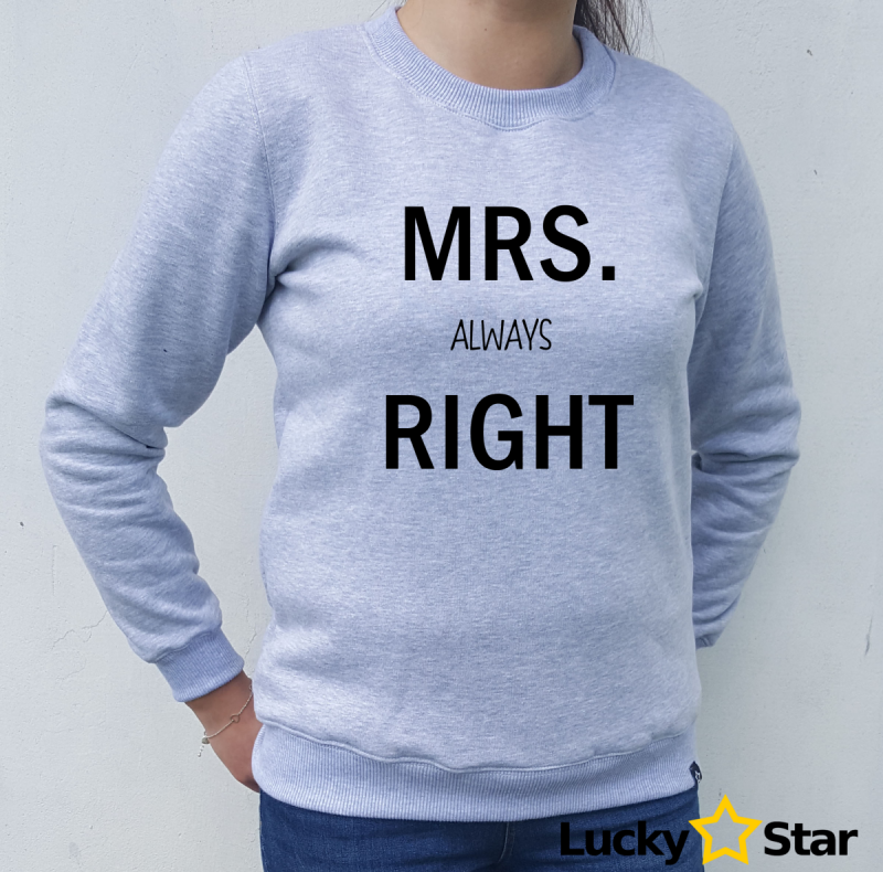 Bluzy dla par MR. MRS. RIGHT