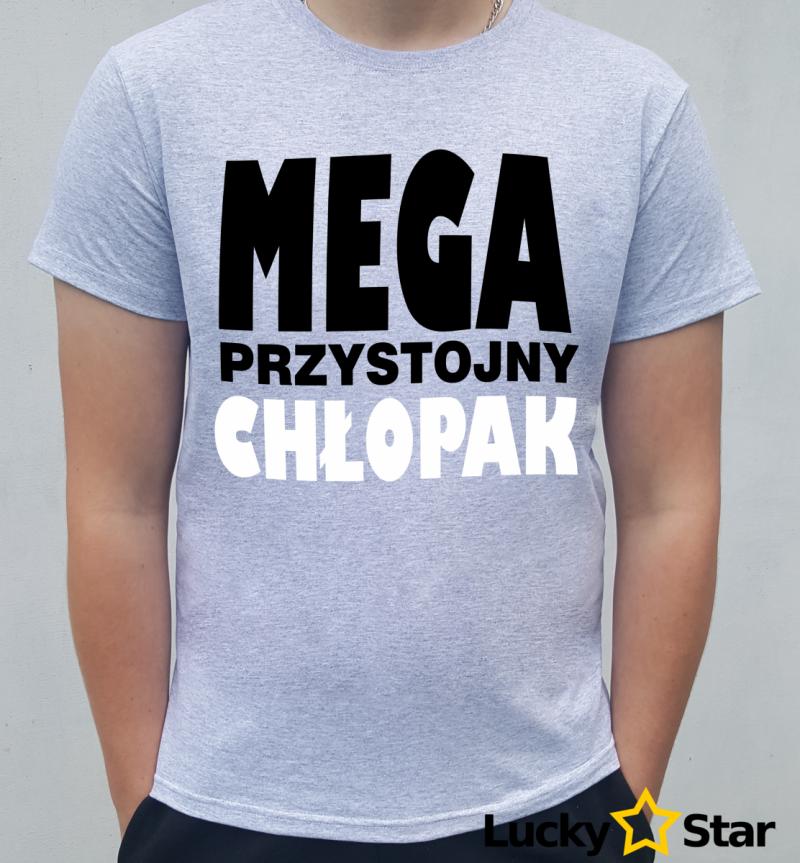 Koszulka MEGA przystojny chłopak