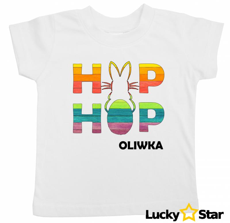 Koszulka dziecięca Hip Hop zajaczek