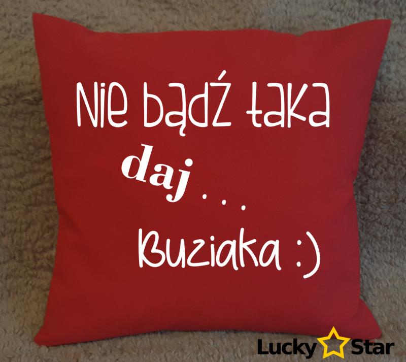 Poduszka Daj buziaka :)