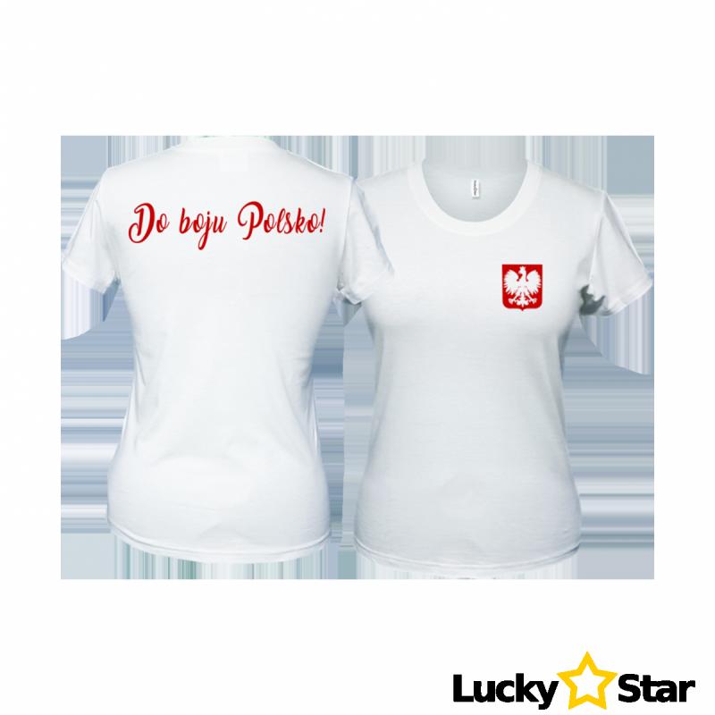 Koszulka Damska Do boju Polsko!