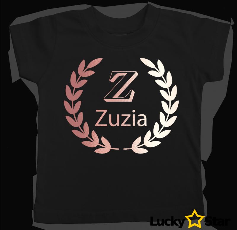 Koszulka dziecięca wianuszek + Twoje imię