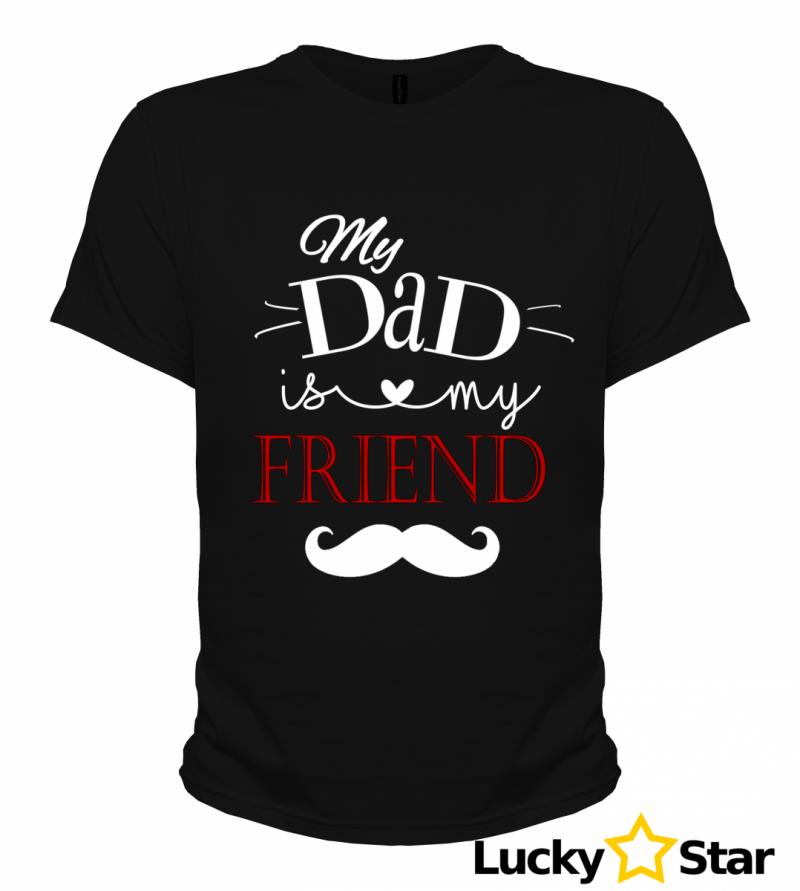 Koszulka Męska My DAD is my FRIEND