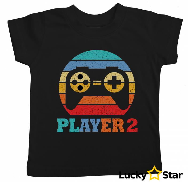 Koszulki dla rodzeństwa GAME PLAYER 1/PLAYER 2