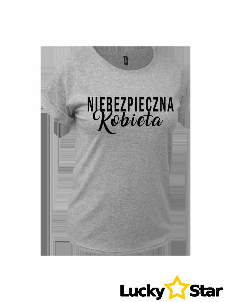 Koszulka NIEBEZPIECZNA Kobieta