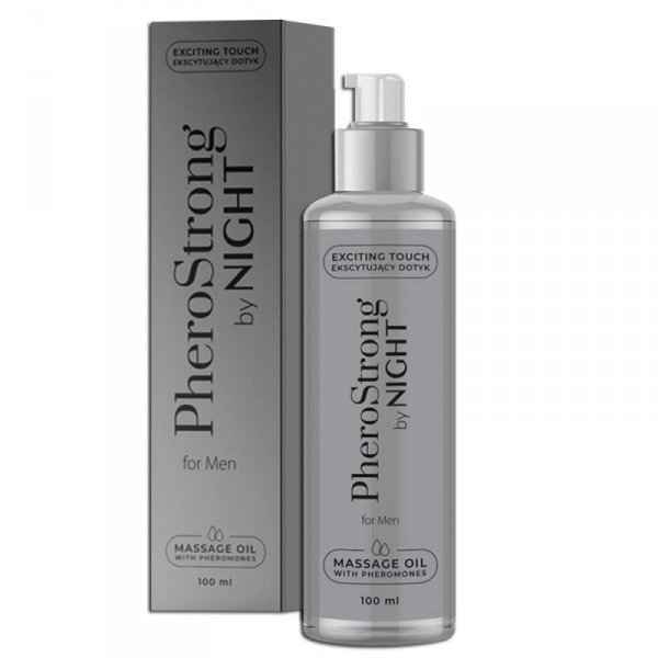 PheroStrong by Night for Men Massage Oil 100 ml