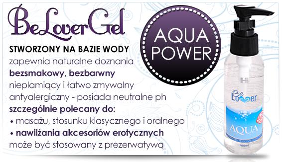Mocno nawilżający żel wodny Be Lover Aqua 100ml