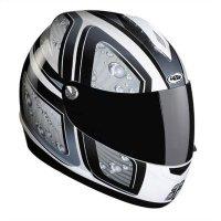 Kask Lazer Vertigo 4D czarno szary