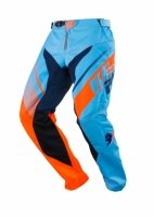 KENNY SPODNIE OFF-ROAD TRACK BLUE-ORANGE