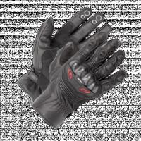 BUSE Rękawice motocyklowe Short Track czarne