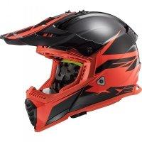 KASK LS2 MX437 FAST EVO ROAR BLACK RED