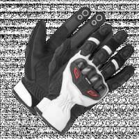 BUSE Rękawice motocyklowe Airway czarno-białe
