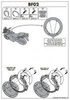 Givi BF02 Pierścień mocujący tanklock Aprilia /Triumph
