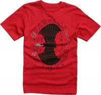 T-SHIRT FOX JUNIOR CURIO DARK RED