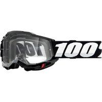 100 PROCENT GOGLE FA20 ACCURI 2 GOGGLE BLACK CLEAR