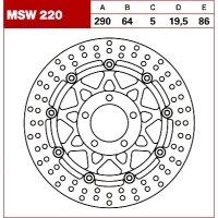 TRW Tarcza hamulcowa MSW220 SUZUKI RF 600 R RGV SV