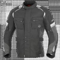 BUSE Kurtka motocyklowa  Breno czarno-szara