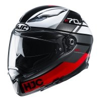 HJC KASK INTEGRALNY F70 TINO BLACK/WHITE/RED