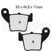 Klocki hamulcowe EBC (2 szt.) FA346R 4101263 Honda CR 125, CRF 250