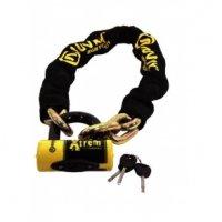 AUVRAY Zestaw łańcuch 120cm z kłódką XTREM MINI