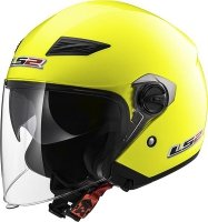 KASK LS2 OF569.2 TRACK SOLID H-V YELLOW