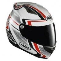 Kask motocyklowy LAZER OSPREY Genius biały/czerw