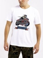 DAVCA T-shirt coffin racer