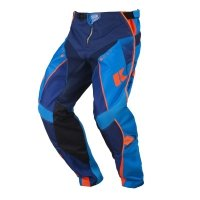 KENNY SPODNIE OFF-ROAD TRACK KID NAVY/CYAN/ORANGE