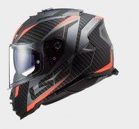 KASK LS2 FF800 STORM  RACER  MATT TITAN FLUO