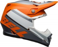 BELL KASK OFF-ROAD MOTO-9 PROPHECY MATT ORA/BLA/GR