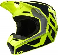 FOX KASK OFF-ROAD JUNIOR V-1 LOVL BLACK/YELLOW