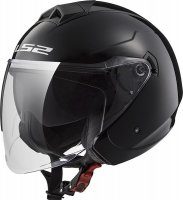 KASK LS2 OF573 TWISTER SOLID BLACK