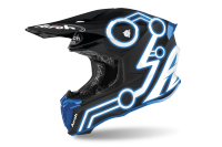 AIROH KASK OFF-ROAD TWIST 2.0 NEON BLUE MATT