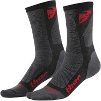 THOR SKARPETY DUAL SPORT S6 CASUAL CHARCOAL/RED =$