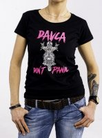 DAVCA T-shirt lady don't panic